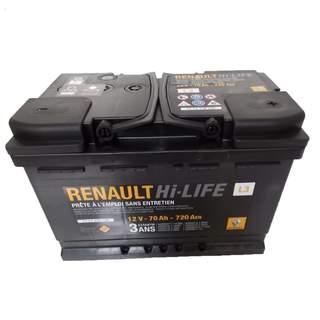 Baterie auto Renault 85 Ah 760 A(EN) L4 12V