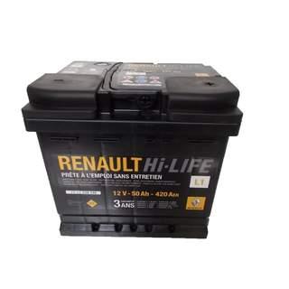 Baterie auto Renault 50 Ah 420 A(EN) 12V