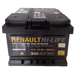 Baterie auto Renault 47 Ah 420 A(EN) 12V